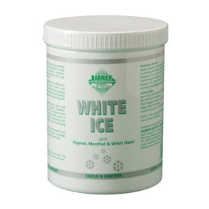 Jahutav geel Barrier white ice