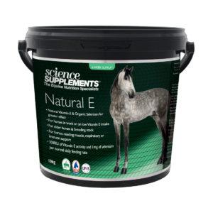 E vitamiin hobustele Science Supplements Natural E