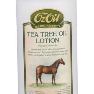 Teepuuõliga hooldusvedelik hobustele