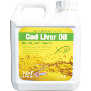 Naf I Can't Believe It's Not Cod Liver Oil õli hobustele