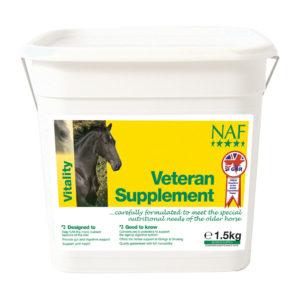 Naf Veteran – vitamiinid & mineraalid eakale hobusele
